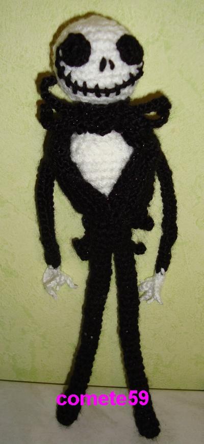 patron Mr Jack au crochet
