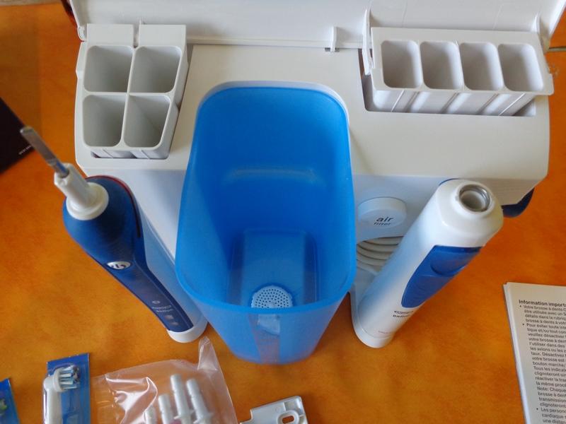 test oral b elec pro 5000 combin dentaire oxyjet brosse. Black Bedroom Furniture Sets. Home Design Ideas